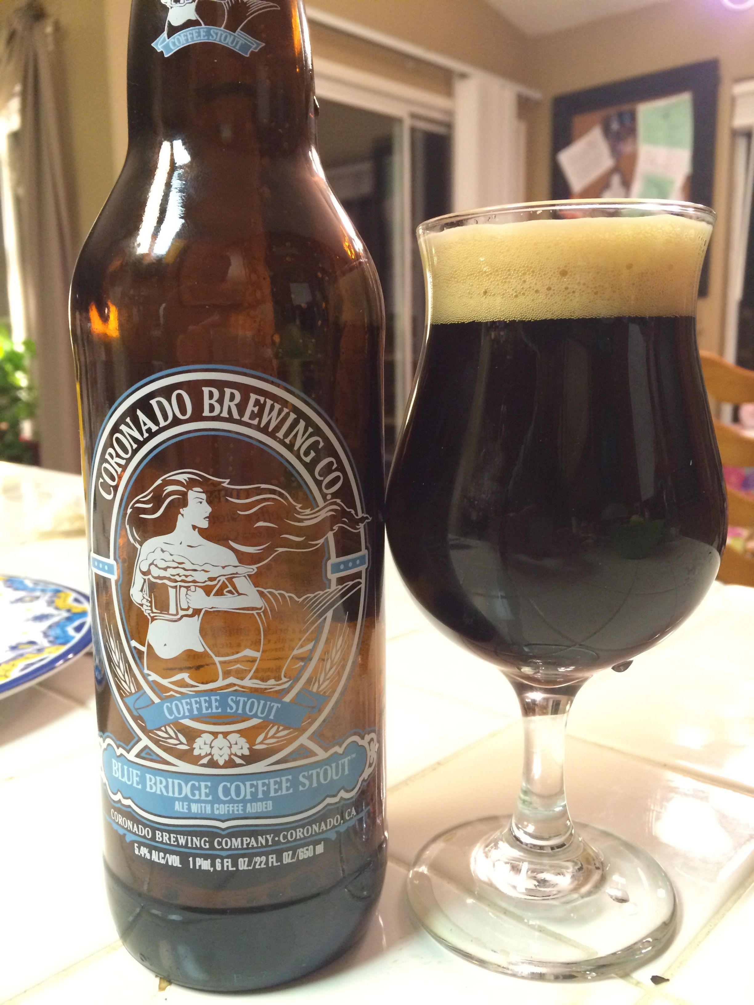 Coronado Brewing 'Blue Ridge Coffee Stout'