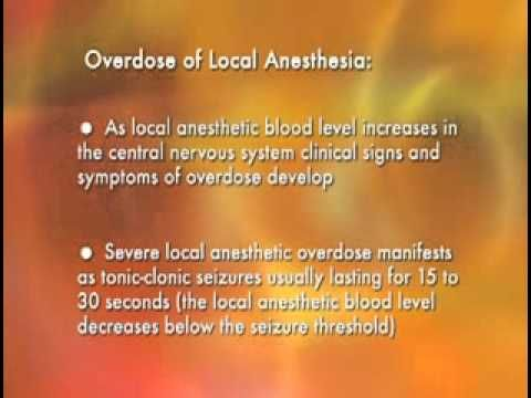 Medical Videos - Malamed_s Local Anesthesia - 14 Complications Systemic.flv