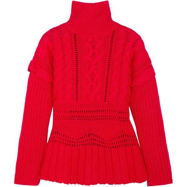 Altuzarra Prelude cable-knit wool turtleneck sweater (£950 ...