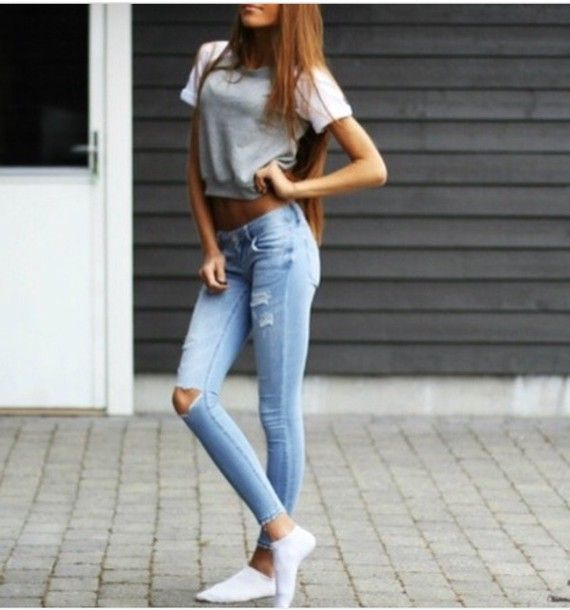 Jeans Tumblr Tumblr Outfit Tumblr Girl Tumblr Clothes Tumblr Love Pinterest