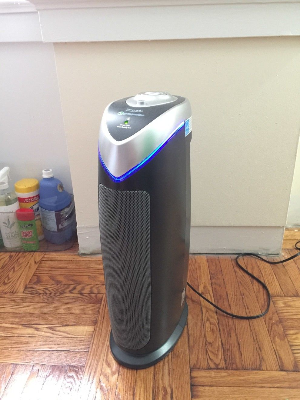 The GermGuardian Air Purifier, to rid your living space of