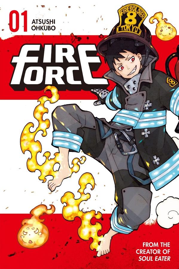 Capa Fire Force Volume 1 - Kodansha Comics   Manga anime, Cabelo masculino  anime, Cartazes gráficos