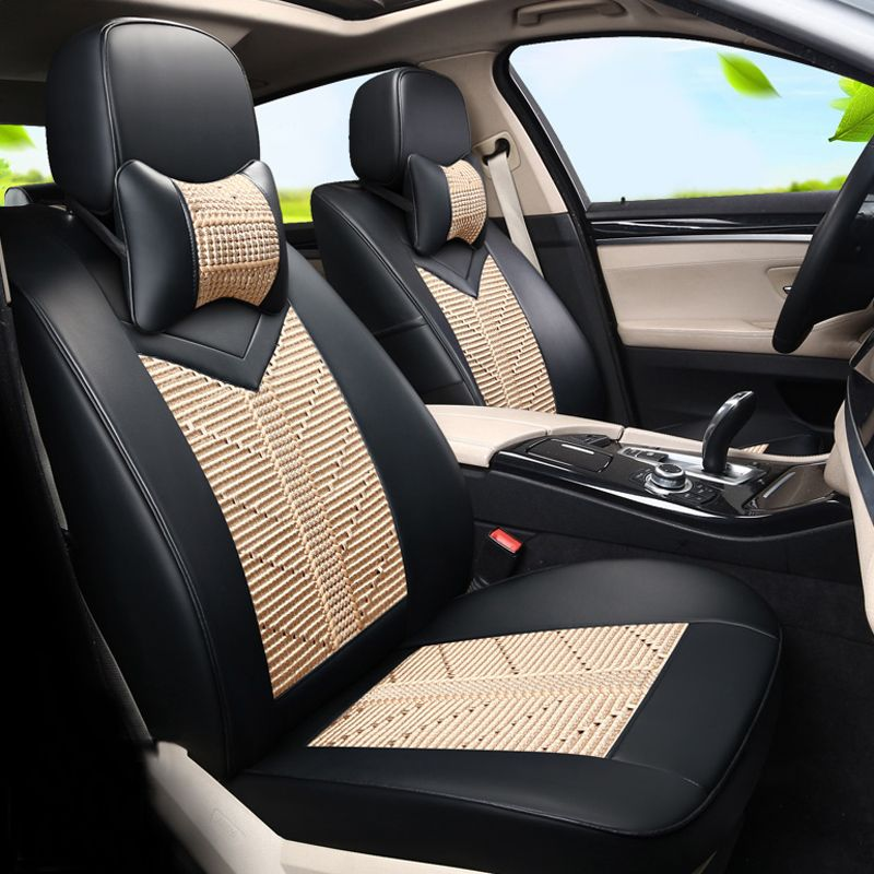 PU leather& Ice Silk Seat Protecotr for Peugeot 206 cc Car Seat ...