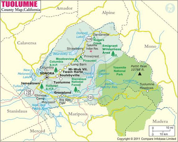 tuolumne county map oh the places i ve seen pinterest