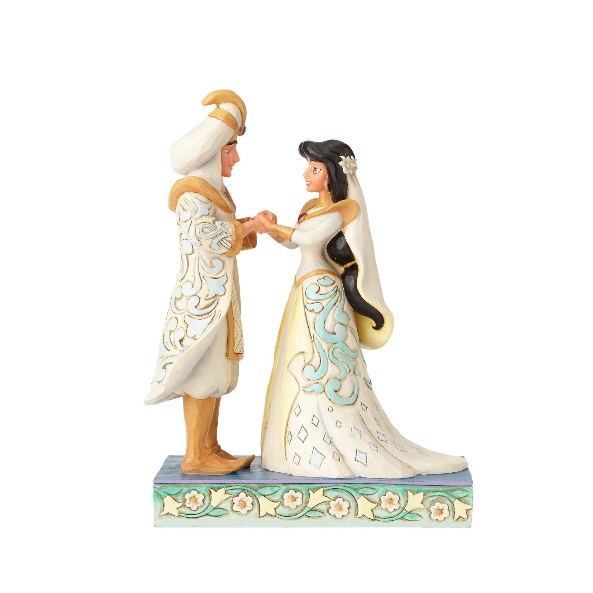 A Wish Come True Jasmine And Aladdin Wedding Figurine