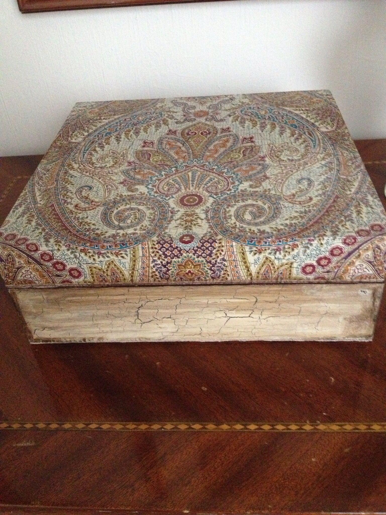 Caja de te con servilleta de zara home homehand made for Servilletas papel zara home