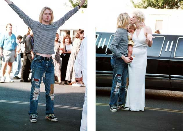 90s Fashion Trends: a roundup > Women's   Kurt cobain and ...