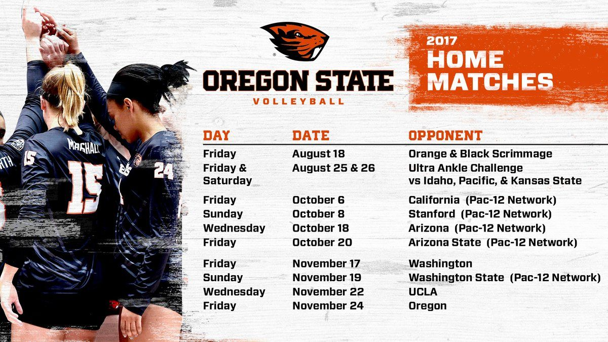 Oregon State Vball Beavervball Twitter Oregon State Writing Majors Oregon State University
