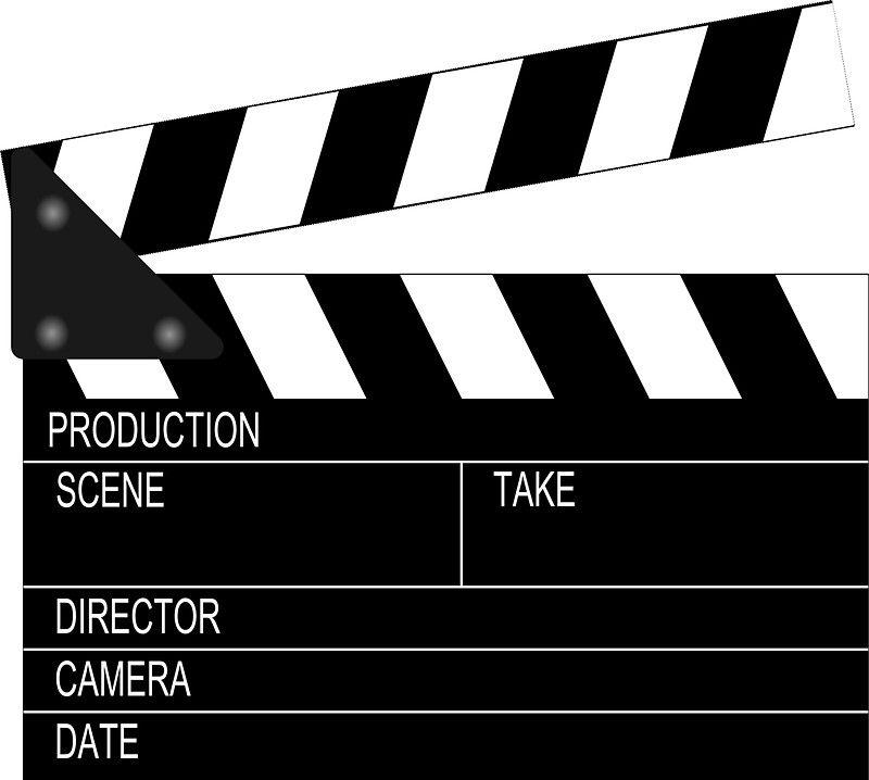 Clapperboard Sticker By Ares286 In 2021 Film Strip Movie Talk Clip Art