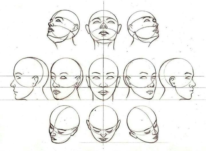 Angle S Face Drawing Drawing Tutorial Face Drawings