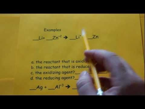 Redox Simplified Simplify Reducing Agent Oxidizing Agent