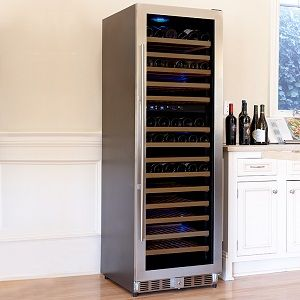 Le Cache Loft 1200 153 Bottle Dual Zone Cellar Loft1200dz Wine