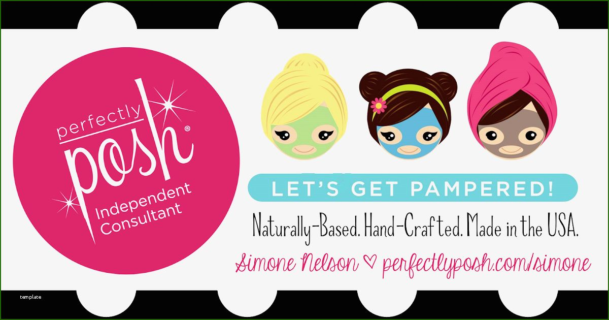 15 Best Perfectly Posh Business Card Template In 2021