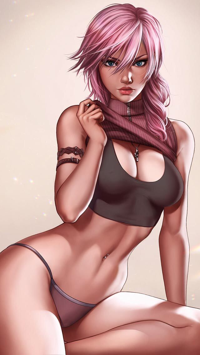 Final fantasy lightning sexy