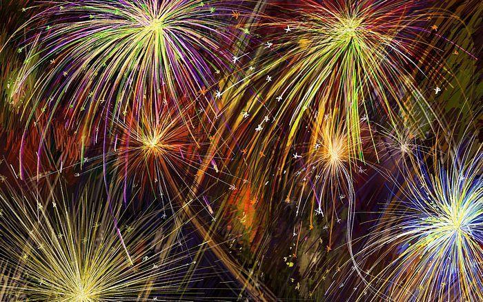 Fireworks Background Fireworks Fireworks Wallpaper