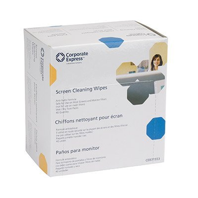 These wipes are made for computers in corporate America, however our personal computers deserve the same care. Great for touch screens too. Anti-Static