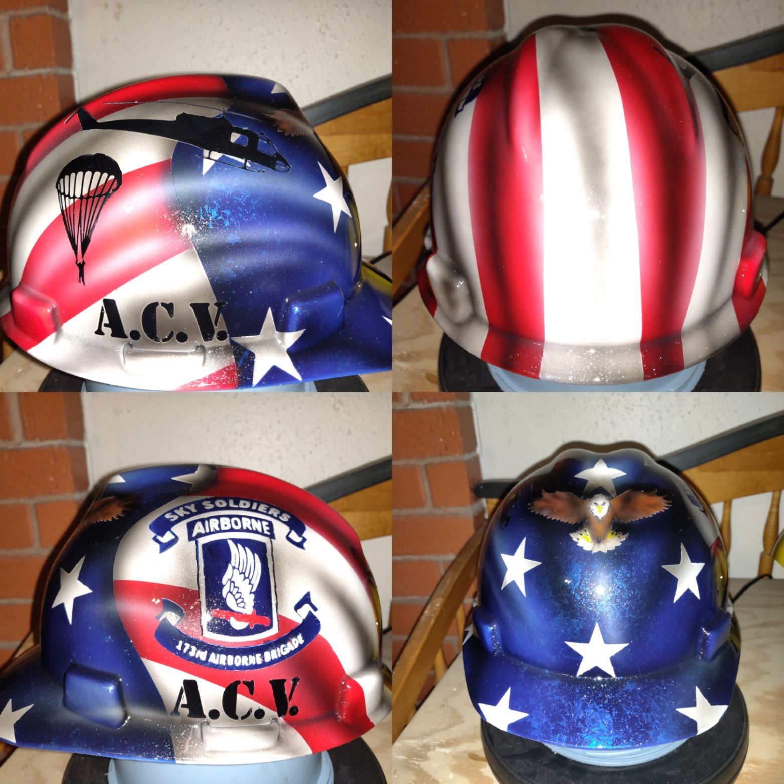 Latest Custom Painted Hard Hat By Zimmerdesignz Com Hardhat Customhardhat Customhardhats Custom Hard Hats Painted Hard Hat Custom Paint