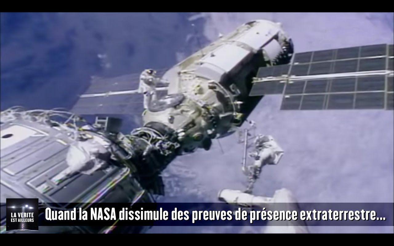 Quand la NASA dissimule des preuves de présence extraterrestre...