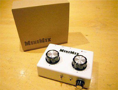 Amazon.co.jp: MINIMIX BRM-202 ハンドメイドコンパクト DJミキサー: 楽器