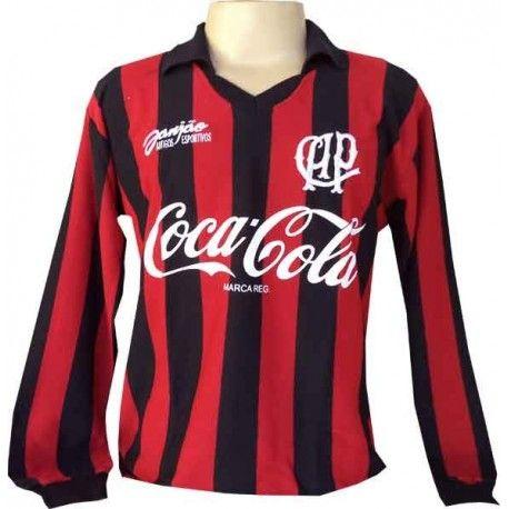 Camisa retrô Atlético Paranaense manga longa - 1993  c94acb41494dd
