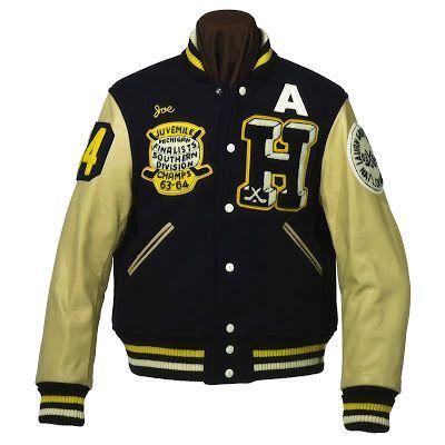 JOE McCOY Letterman Jackets VINTAGE AMERICANA TOGGERY - americana sportswear