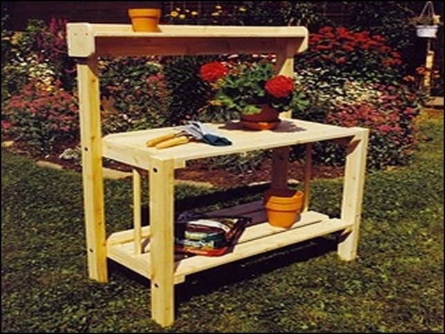 Smith Hawken Potting Bench Home Picture Gallery Garden Shed