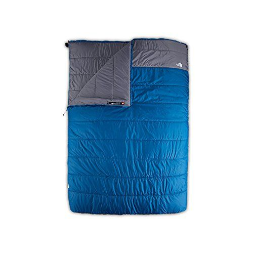 The North Face Dolomite Double 3s Bx Right Hand Sleeping Bag Deep Water Blue Regular