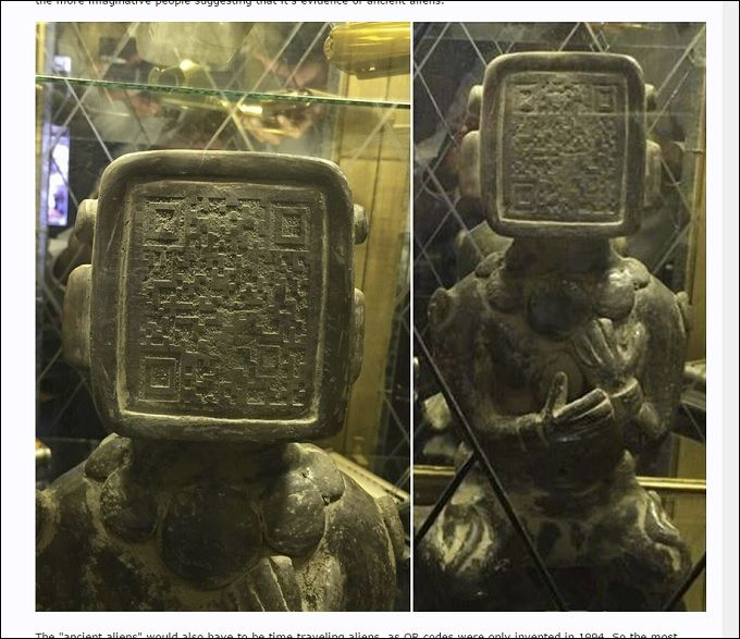 QRcode.jpg | 写真 | Pinterest | Ancient architecture and Ancient aliens