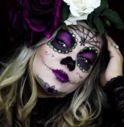 35+ Amazing Halloween Costumes That Only Use Makeup | Halloween ...