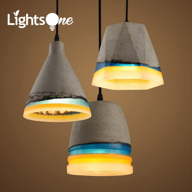 Alibaba aliexpress cheap pendant lamp buy quality small pendant lamps directly from china cement pendant light suppliers nordic loft retro industrial wind cement pendant mozeypictures Image collections