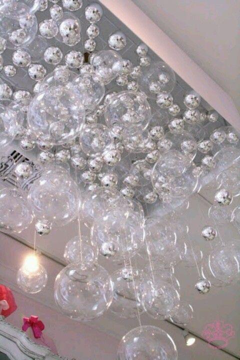 DIY Chandelier | Kronleuchter selbst bauen, Glaskugel lampe