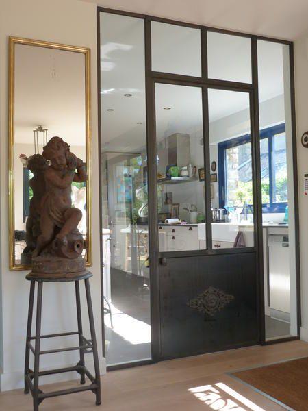 S paration de pi ces l 39 art de fer locqueltas puertas pinterest rech - Porte coulissante en fer ...