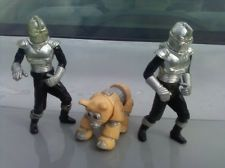 Daggett and Cylons: The only Battlestar Galactica toys I owned. Christmas stocking stuffers, I think. Vanished when I was eight, mysteriously of course.