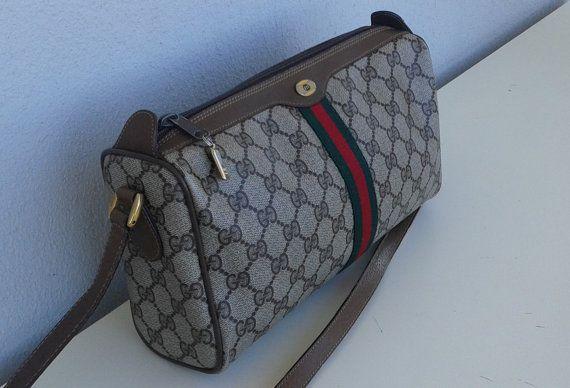 ab71fe4724d Gucci vintage cross body bag purse by ALILALIA on Etsy