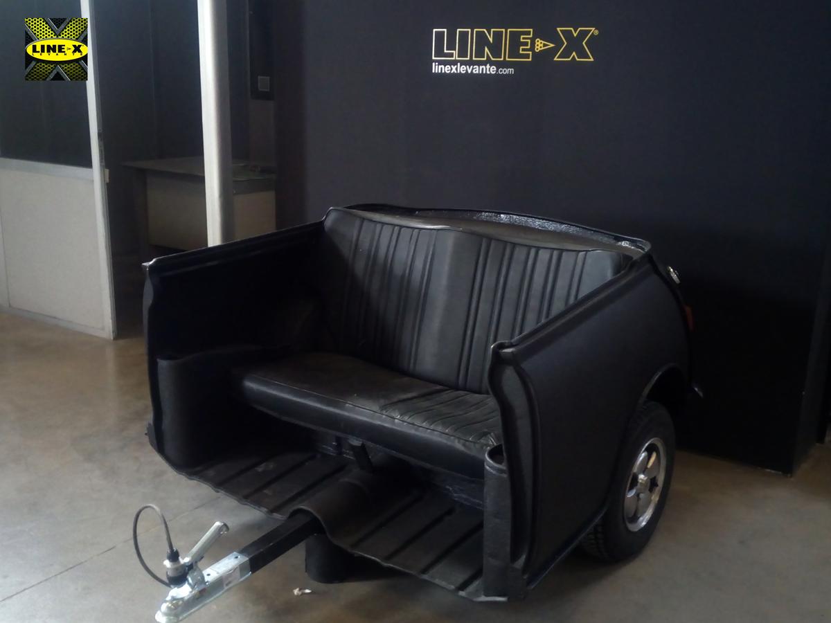 #Mini transformado en remolque-bar con LINEX