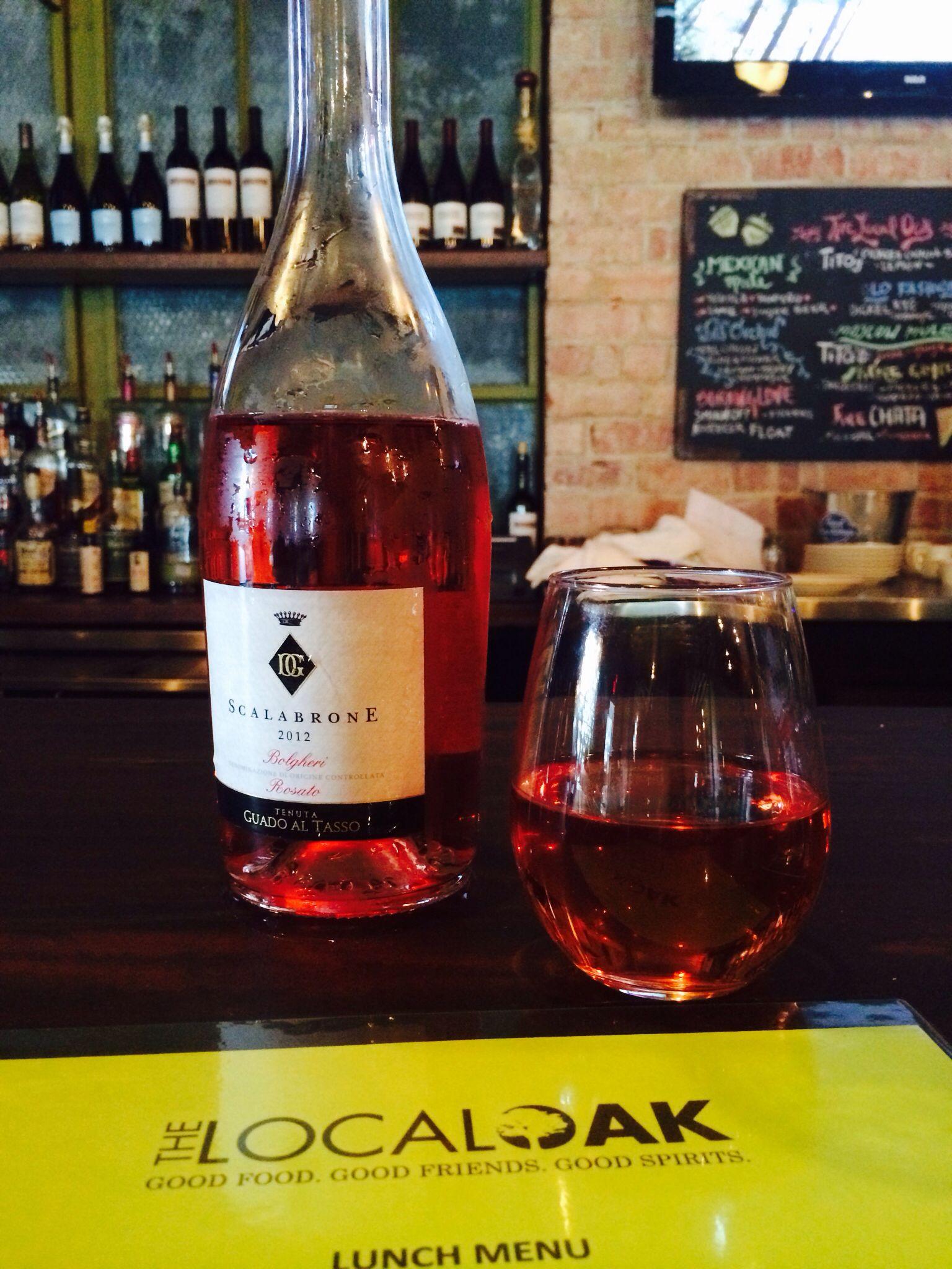 Scalabrone Rosato From Bolgheri With Wine Bottle Good Spirits Rose Wine Bottle