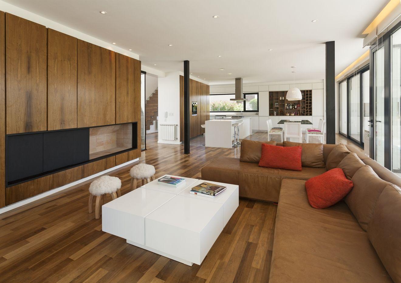 planos de casa de dos pisos moderna, construcción con posibilidad