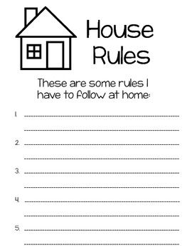 my rules and responsibilities booklet teacher social studies and school. Black Bedroom Furniture Sets. Home Design Ideas
