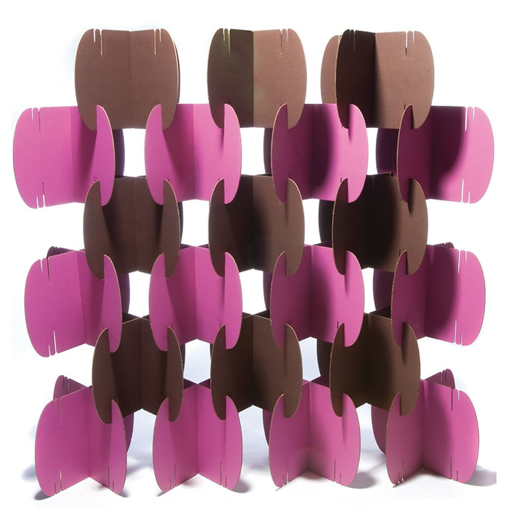 Biombo casero dise o muebles de cart n biombos y - Biombo de carton ...