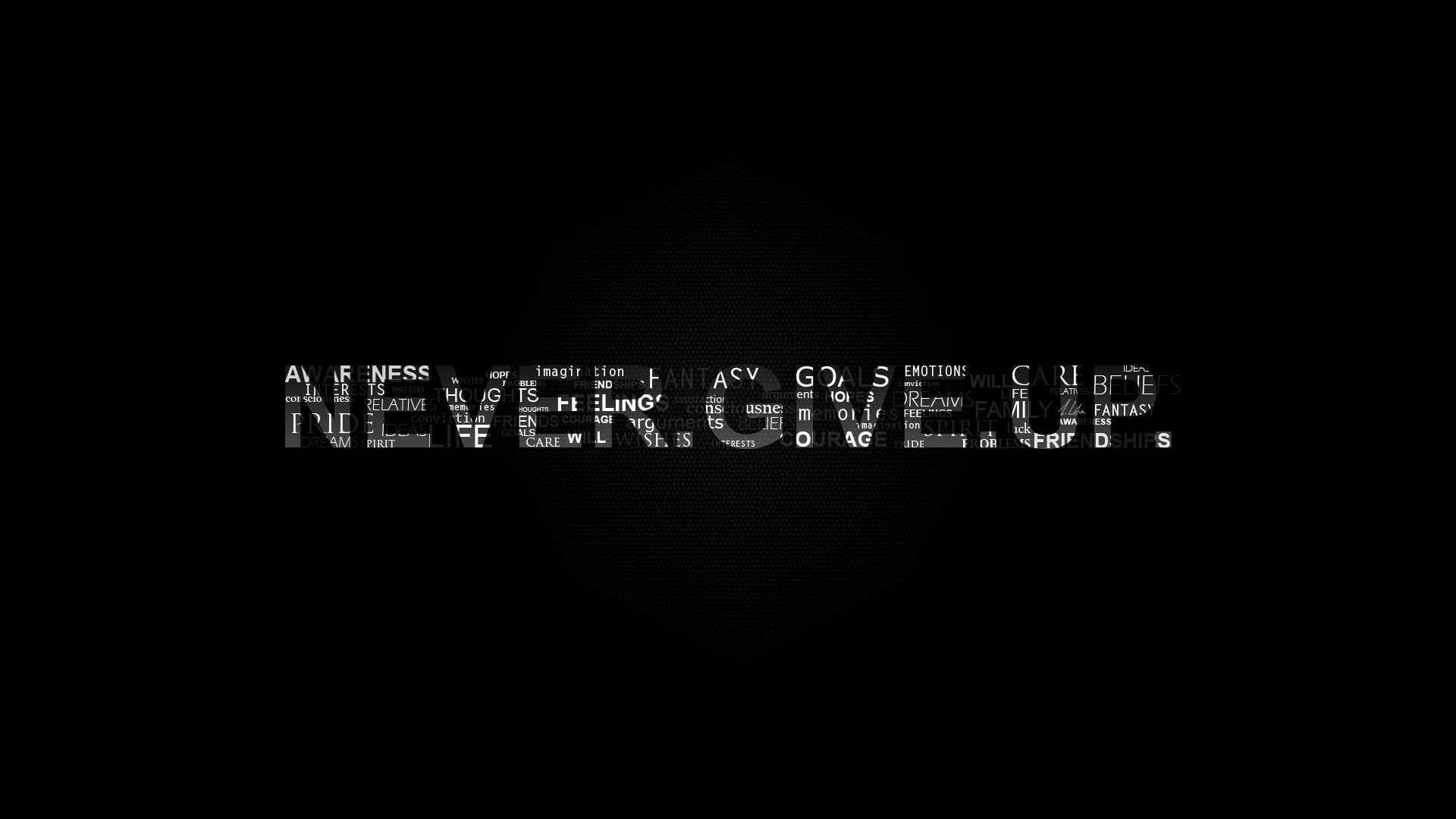 Wallpaper Never Give Up Text Motivational Black Background Typography Hope Quotes Never Give Up Never Give Up Quotes Typography Wallpaper