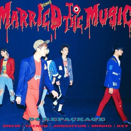 SHINee Married To The Music | Album Covers | Shinee, Music