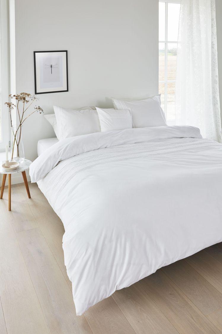 All white bedroom linen sheets  #makkari