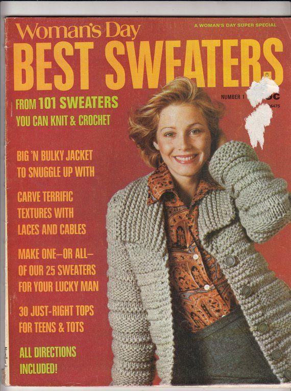 Teen knitter and crochet magazine are mistaken
