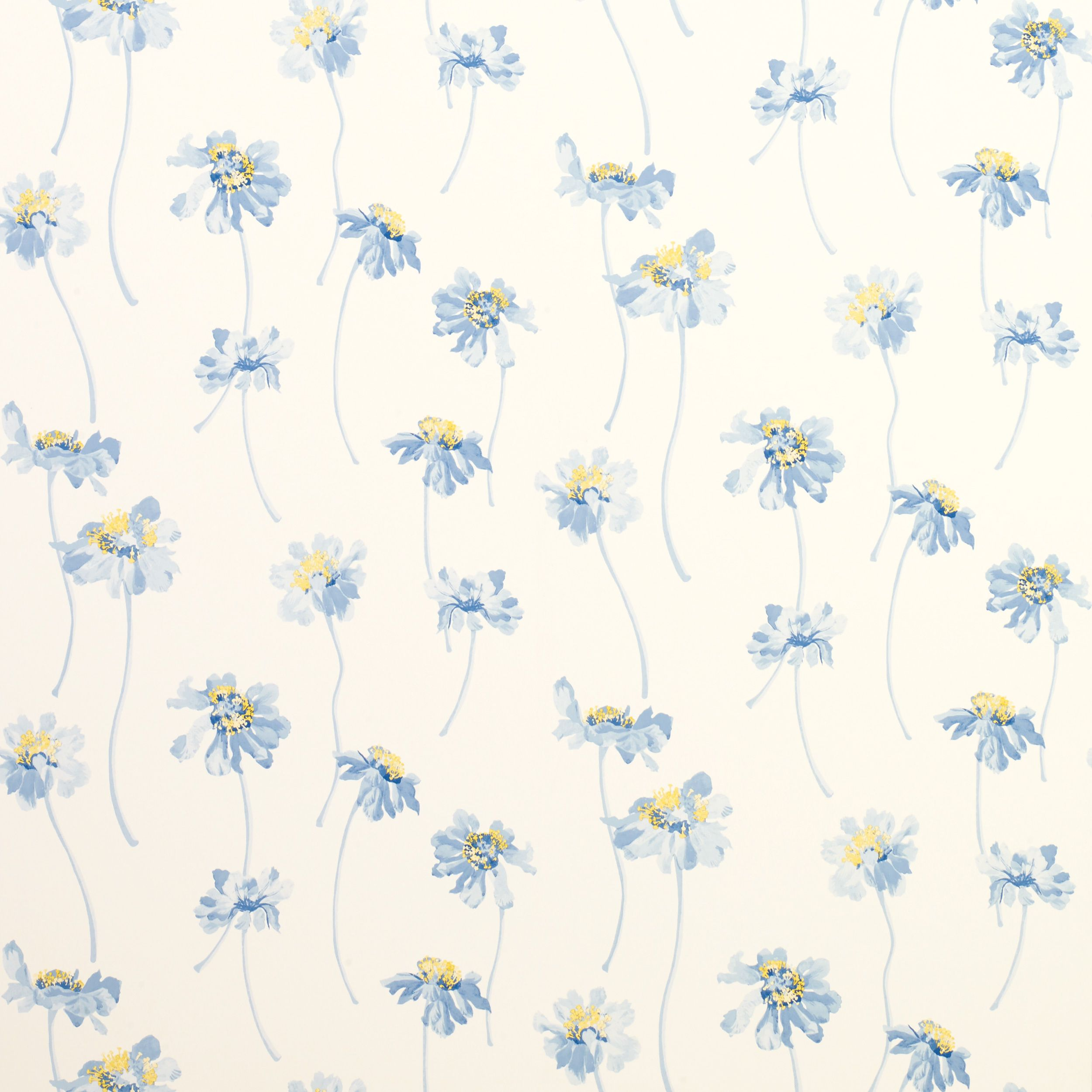 Runswick Seaspray Floral Wallpaper Floral pattern