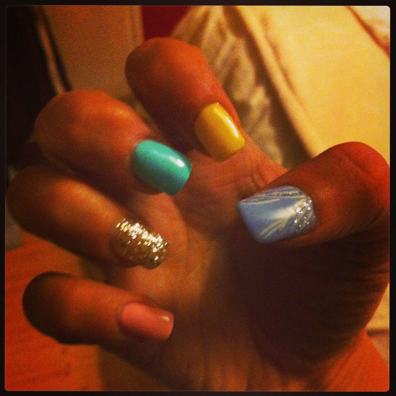 My beautiful new Disney Princess nails #nailart | Nail art xxx ...