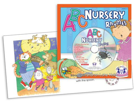 ABC Nursery Rhymes  Children will learn the alphabet while they sing classic nursery rhymes! Track 1 is the story sung word-for-word. Tracks 2 to 12 are other alphabet songs and nursery rhyme songs!  $4.99