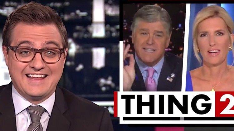 MSNBC's Chris Hayes Taunts Sean Hannity, Laura Ingraham