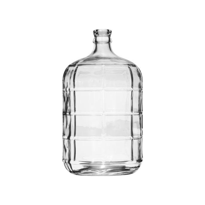 Stijlvolle vaas van glas voor extra sfeer in huis. Ook verkrijgbaar in kleiner formaat.