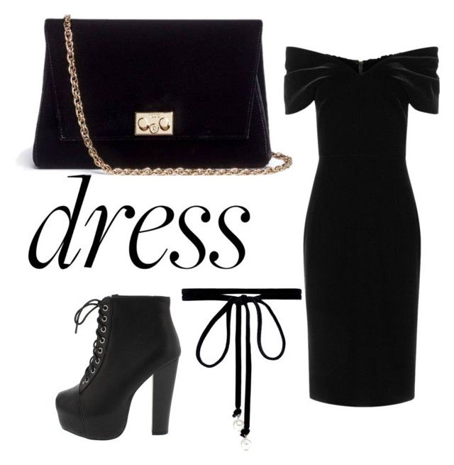 """Dress"" by momocarri on Polyvore featuring Emilio De La Morena, Rodo and Joomi Lim"