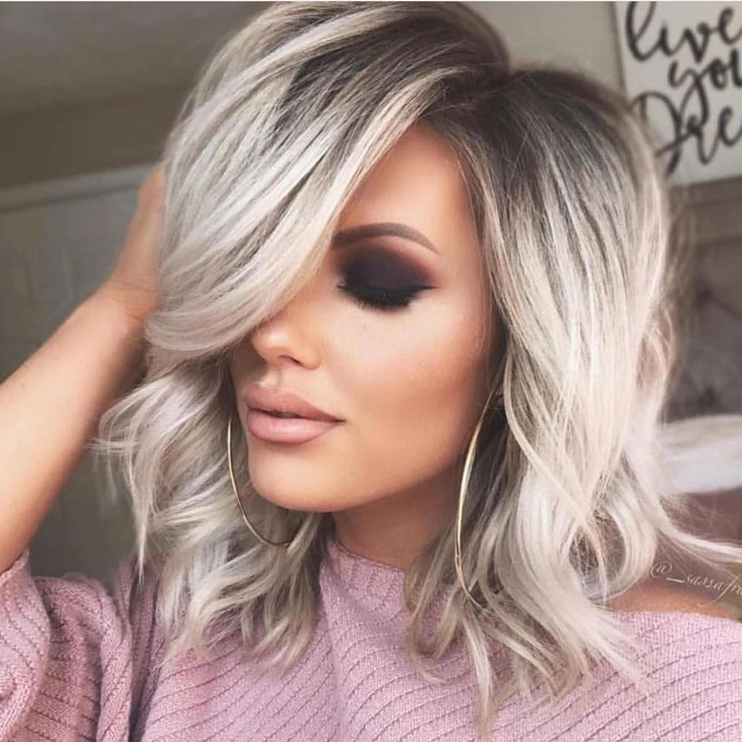 20 Most Popular Hairstyles On Pinterest Right Now Hair Styles Medium Blonde Hair Front Lace Wigs Human Hair